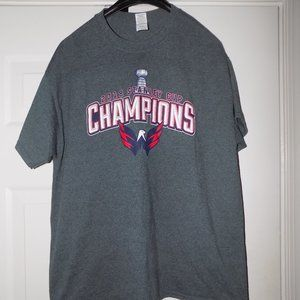 2018 WASHINGTON CAPITALS STANLEY CUP CHAMPS TEE